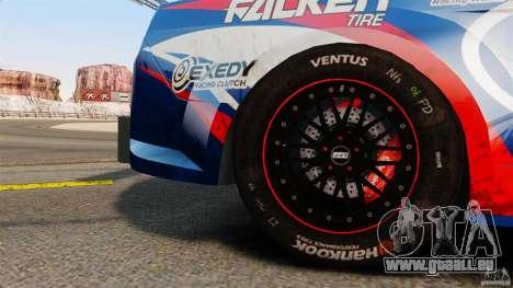 Ford Mustang 2010 GT1 pour GTA 4 est un droit