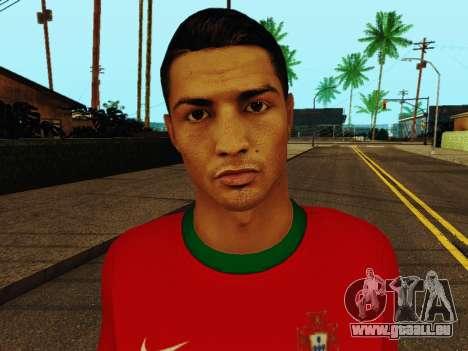 Cristiano Ronaldo v4 pour GTA San Andreas sixième écran