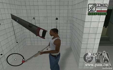 Säge für GTA San Andreas zweiten Screenshot