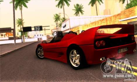 Ferrari F50 Spider für GTA San Andreas rechten Ansicht