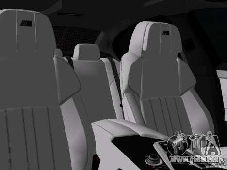 BMW M5 F10 2012 pour GTA Vice City roue