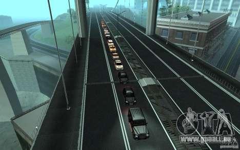 Le cortège présidentiel v. 1.2 pour GTA San Andreas cinquième écran
