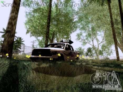 Ford F-150 Road Sheriff pour GTA San Andreas vue de dessus