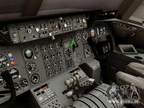 McDonell Douglas DC-10-30 Continental pour GTA San Andreas vue intérieure
