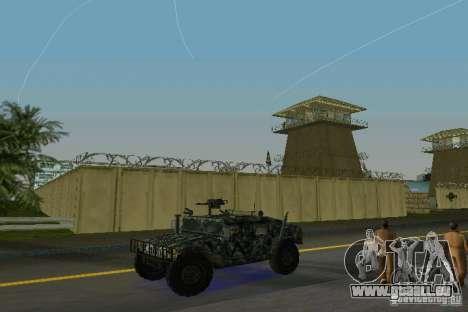 Hummer HMMWV M-998 1984 pour une vue GTA Vice City de la gauche