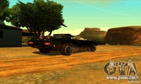 Ford Falcon 351 GT (XB) pour GTA San Andreas vue arrière