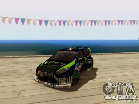 Ford Fiesta Gymkhana 3 pour GTA San Andreas laissé vue