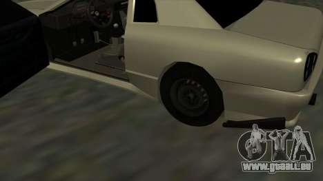 Elegy Roportuance für GTA San Andreas Innenansicht