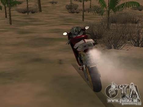 Ducati 999R für GTA San Andreas rechten Ansicht