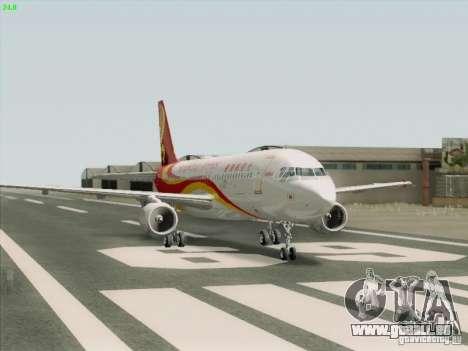 Airbus A320-214 Hong Kong Airlines für GTA San Andreas rechten Ansicht