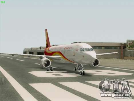 Airbus A320-214 Hong Kong Airlines pour GTA San Andreas vue de droite