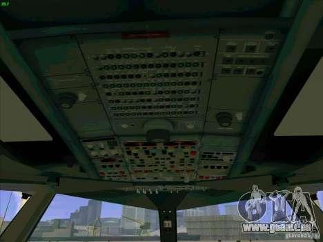 Airbus A380-800 für GTA San Andreas Innen