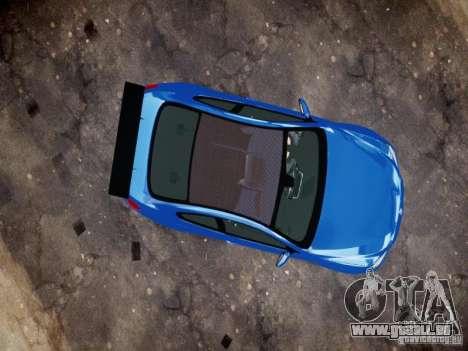 BMW M6 2013 für GTA 4 Rückansicht