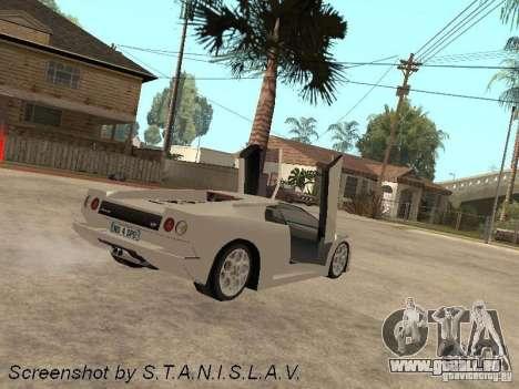 Lamborghini Diablo für GTA San Andreas linke Ansicht