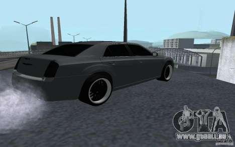 Chrysler 300C für GTA San Andreas zurück linke Ansicht