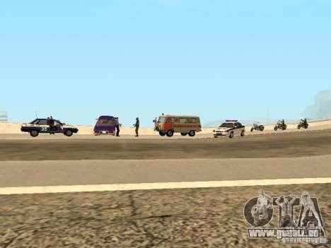 Un ACCIDENT sur le pont de Garver pour GTA San Andreas troisième écran