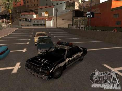 Police VC für GTA San Andreas Rückansicht