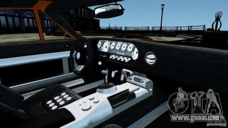 Ford GT 2005 v1.0 pour GTA 4 vue de dessus