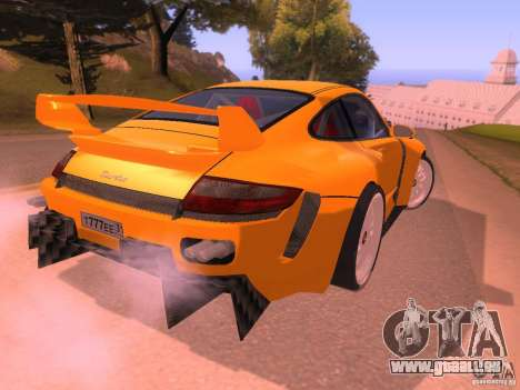 Porsche 911 Turbo Tuning pour GTA San Andreas vue de droite
