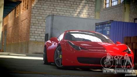 Ferrari 458 Italia 2010 Autovista für GTA 4