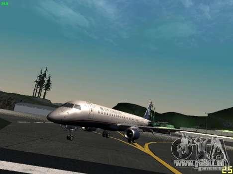 Embraer ERJ 190 USAirways für GTA San Andreas
