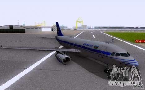 Airbus A-319 Azerbaijan Airlines für GTA San Andreas
