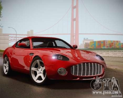 Aston Martin DB7 Zagato 2003 pour GTA San Andreas salon