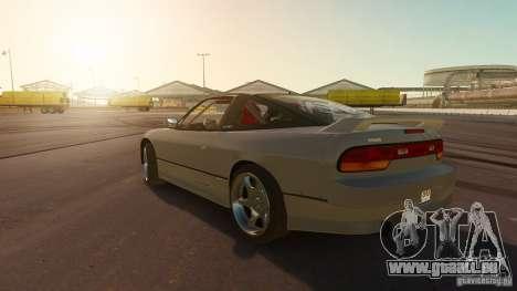 Nissan 240SX Drift für GTA 4 linke Ansicht