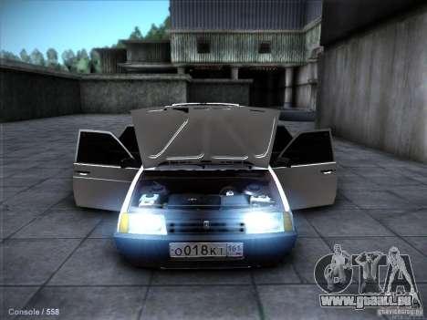 VAZ 2109 Rostow für GTA San Andreas obere Ansicht