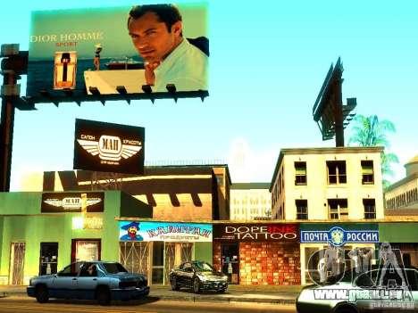 Nouvelles textures de Los Santos pour GTA San Andreas