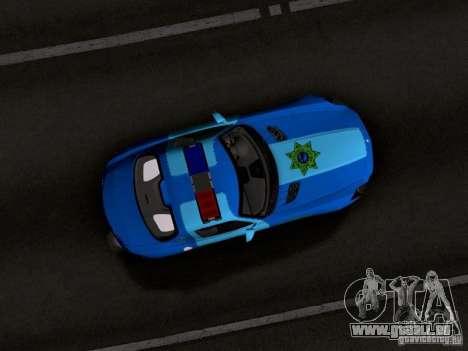 Mercedes-Benz SLS AMG Blue SCPD pour GTA San Andreas vue intérieure