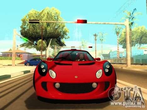 Lotus Exige 240R pour GTA San Andreas laissé vue