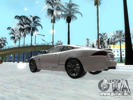 Jaguar XK für GTA San Andreas linke Ansicht