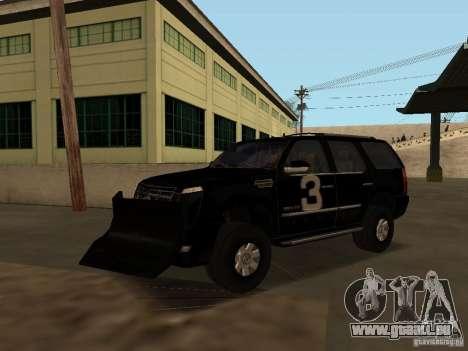 Cadillac Escalade Tallahassee für GTA San Andreas Seitenansicht