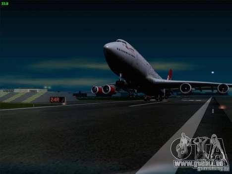 Boeing 747-4Q8 Lady Penelope pour GTA San Andreas vue de côté
