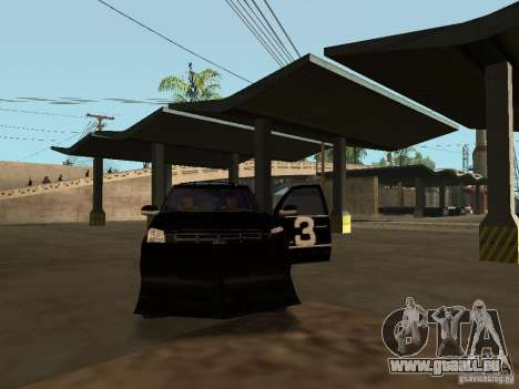 Cadillac Escalade Tallahassee für GTA San Andreas obere Ansicht