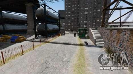 La piste dans le style de Gymkhana pour GTA 4 secondes d'écran