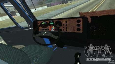 Man F2000 pour GTA San Andreas vue de droite