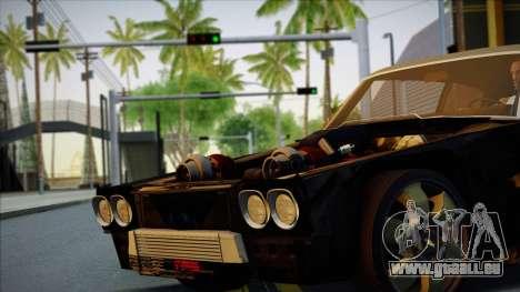 Chevrolet Chevelle SS 454 1970 pour GTA San Andreas sur la vue arrière gauche