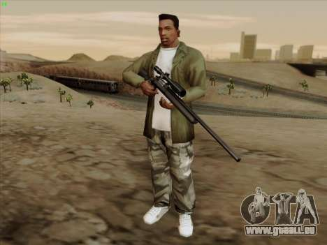 Remington 700 für GTA San Andreas