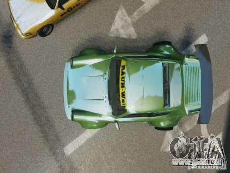 Porsche 911 Turbo RWB Pandora One Beta pour GTA 4 est une vue de l'intérieur