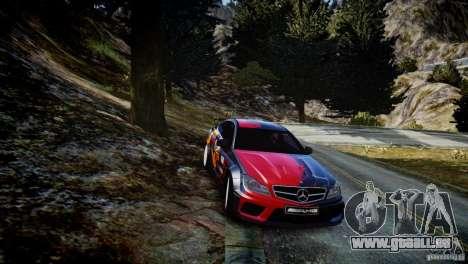 Mercedes Benz C63 AMG SAIBON Paint Job pour GTA 4