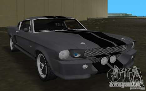 Shelby GT500 Eleanor pour GTA Vice City