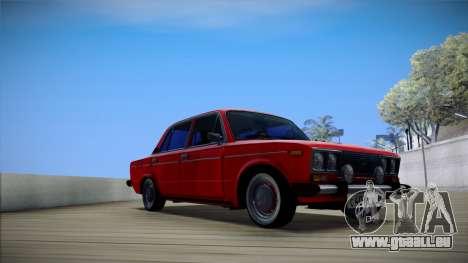 VAZ 2106 rétro V3 pour GTA San Andreas laissé vue