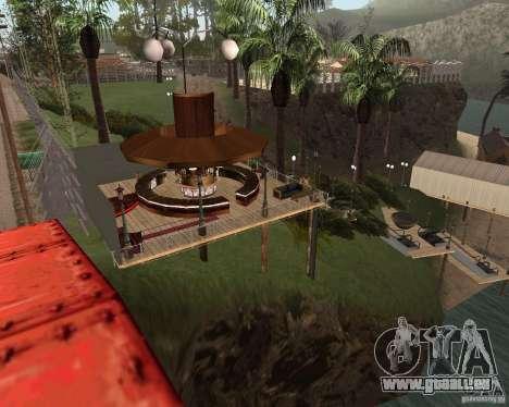 Villa in der Fischerei-Lagune für GTA San Andreas dritten Screenshot