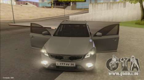 Kia Ceed SW für GTA San Andreas