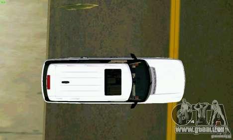 Land Rover Range Rover Supercharged 2008 pour GTA Vice City vue arrière