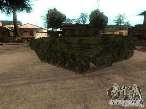 BMP-2 en COD MW2 pour GTA San Andreas sur la vue arrière gauche