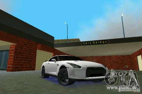 Nissan GT-R Spec V 2010 v1.0 für GTA Vice City
