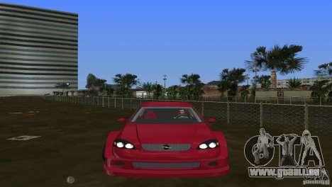 Opel Astra DTM pour GTA Vice City sur la vue arrière gauche